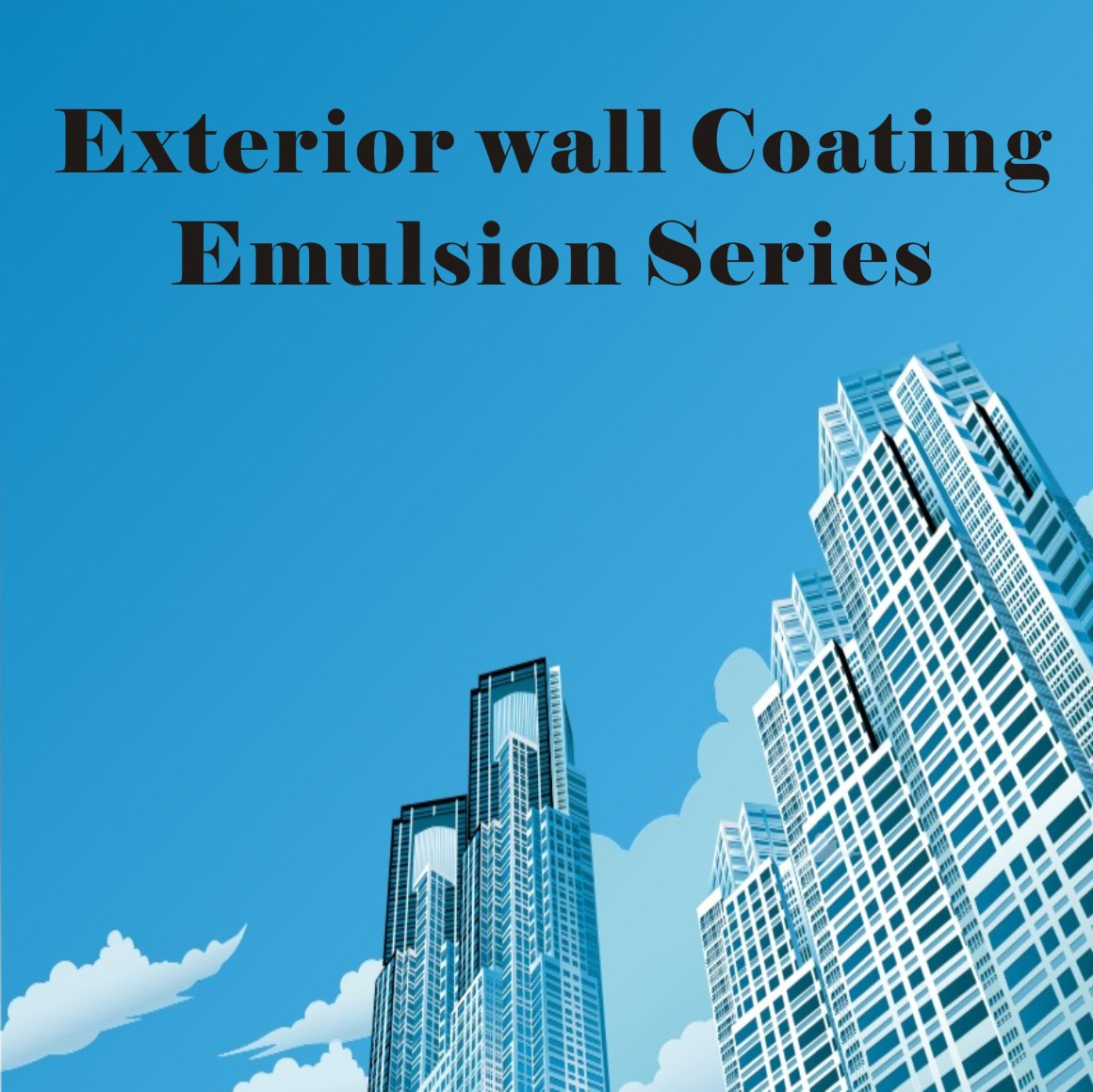 JN AA-3405 Excellent Weather-Resistant Emulsion for Exterior Wall Coatings